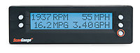 ScanGaugeII showing RPM, MPH, and MPG with GPH